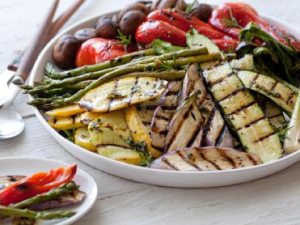 Grilled and Marinated Vegetable Platter