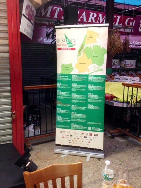 Opening Night of In Scena! Italian Theater Festival NY