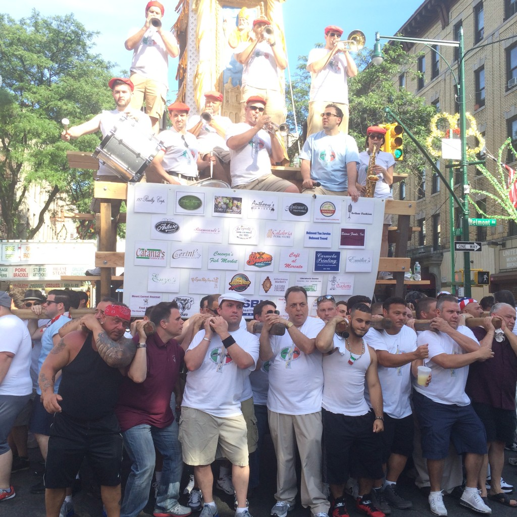 Dancing of the Giglio 2015