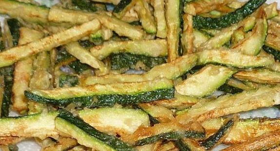 Zucchini Fritti from Mario's Restaurant
