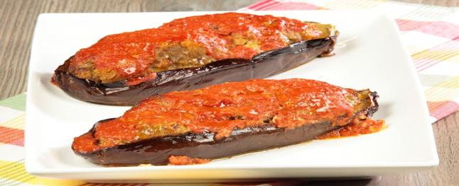 Melanzane Ripieni with Marinara Sauce