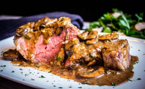 Beef Scallopine Casalinga from Mario's Restaurant
