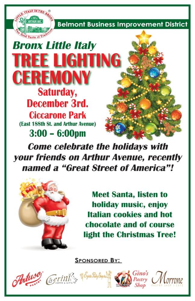 christmas tree lighting ceremony - Italian Christmas Music
