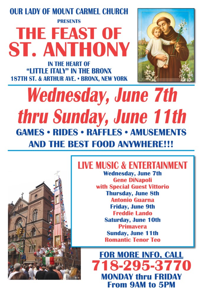 St. Anthony Feast 2017