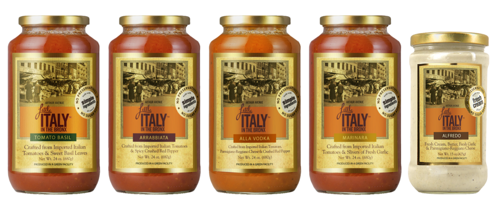 Little Italy in the Bronx Sauces