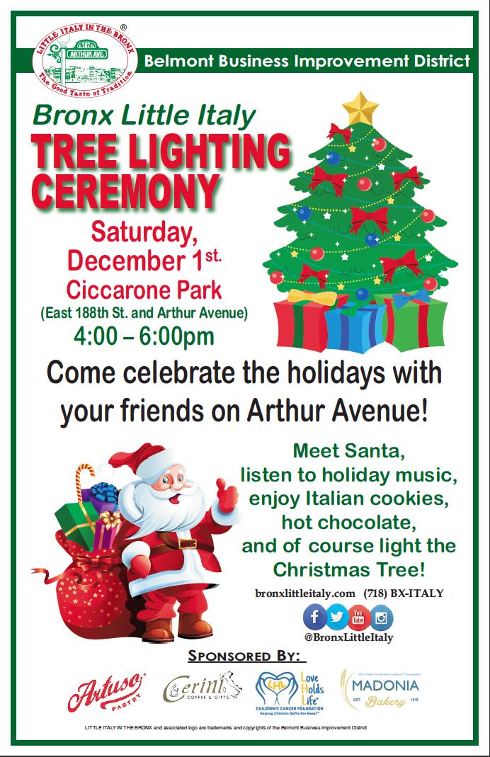 Little Christmas Italy.Tree Lighting Ceremony